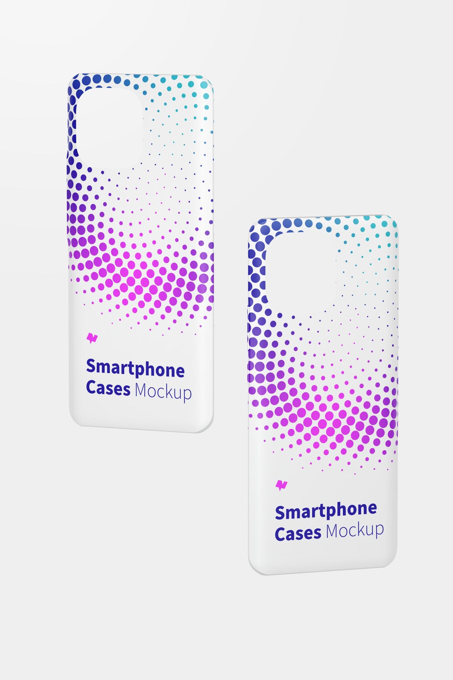 Xiaomi Case Mockup, Floating