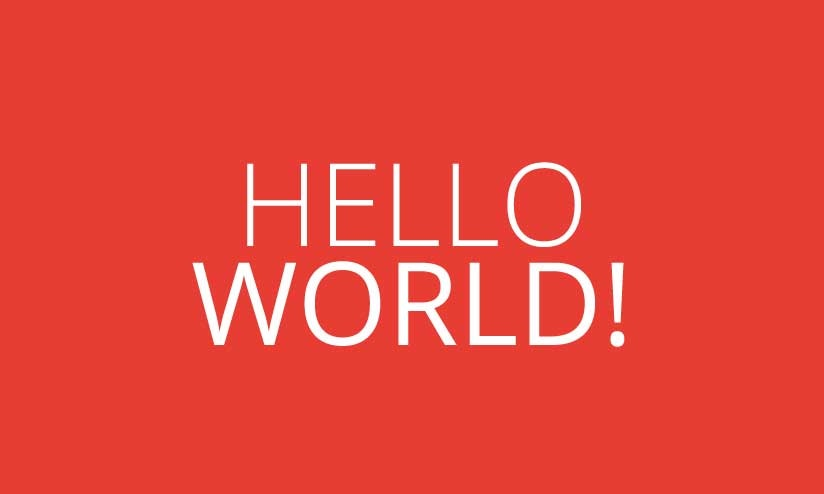Hello World by Original Mockups on Original Mockups