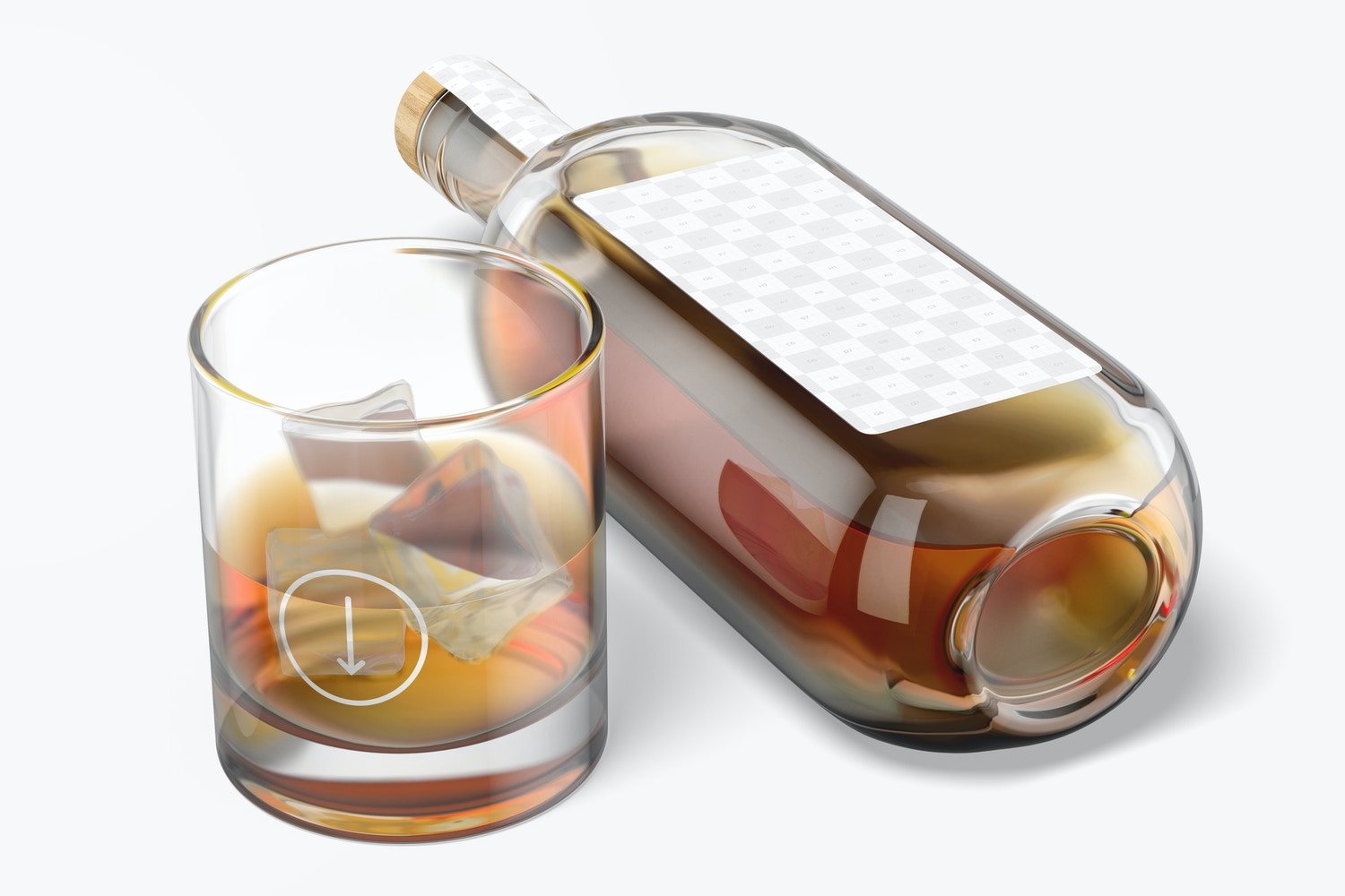 11 oz Whiskey Glass Cup Mockup