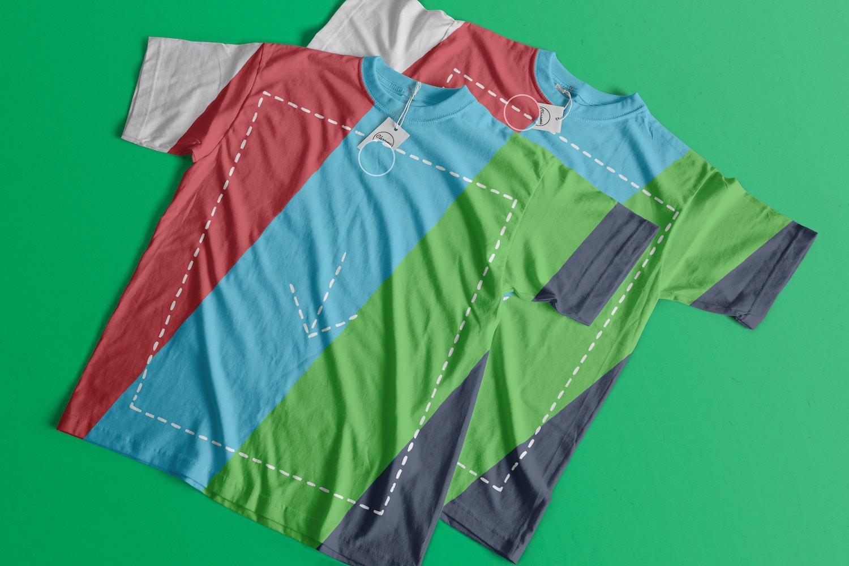 T-Shirts Mockup 04 (2) by Antonio Padilla on Original Mockups