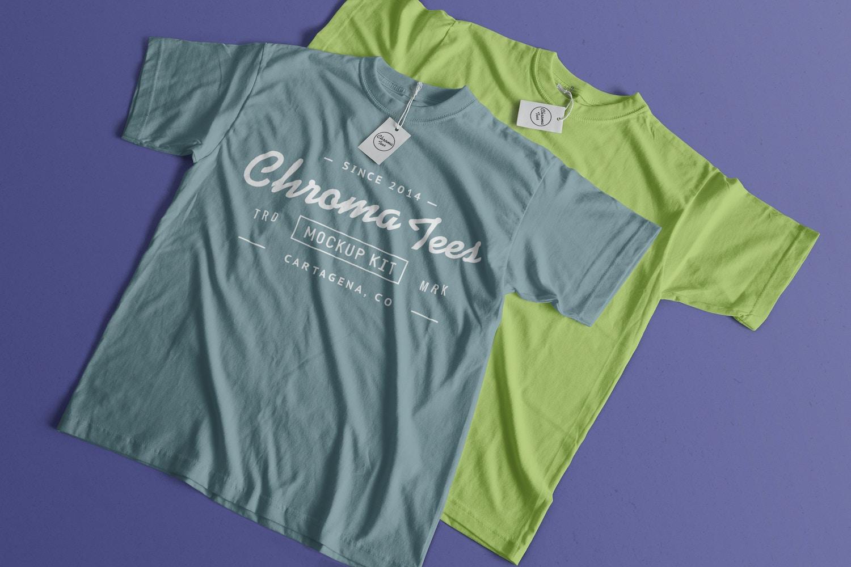 T-Shirts Mockup 04