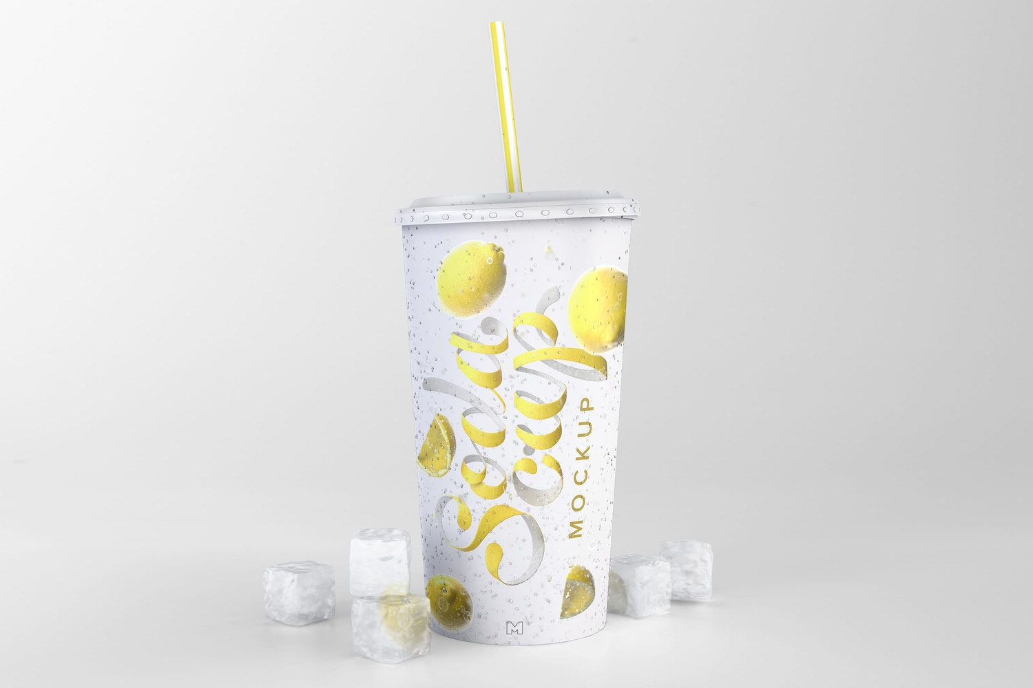 Soda Cup Mockup 02 by Original Mockups on Original Mockups