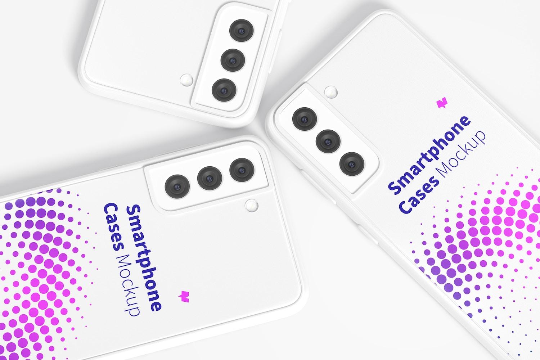 Samsung S21 Cases Mockup, Close Up