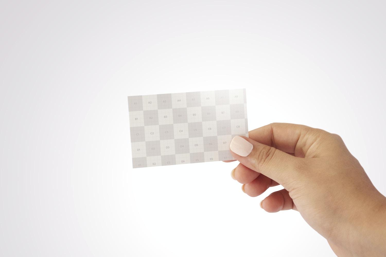 Business Card Mockup 3