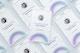 Maqueta de Varias Tarjetas de Identificación Verticales