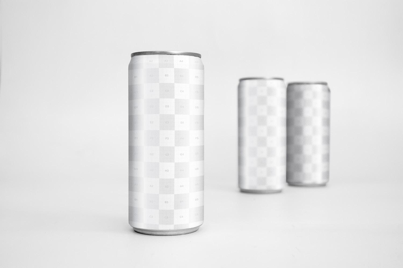 Sleek Cans Mockup 3