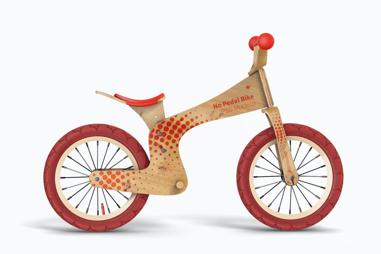 No Pedal Bike Mockup