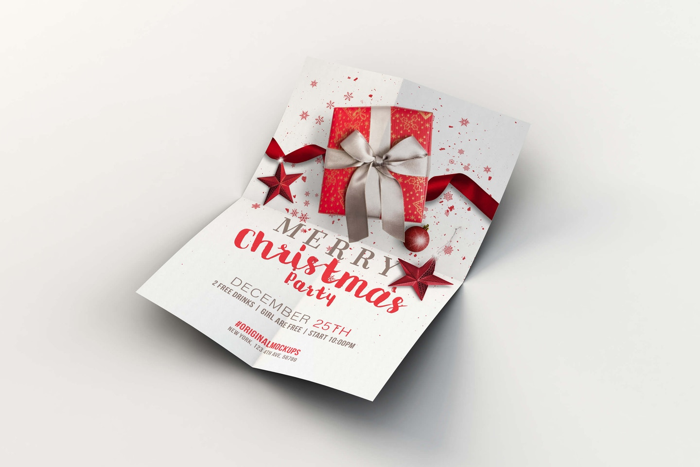 Merry Christmas Flyer - Poster 01