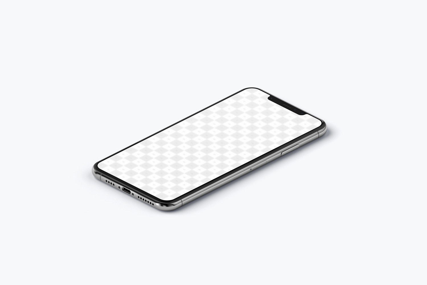 iPhone XS Max Mockup, Isometric Right View (2) by Original Mockups on Original Mockups
