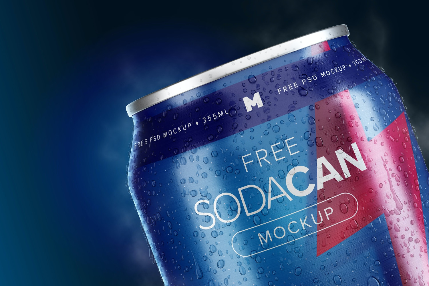 355ml Soda Can Mockup 06 by Original Mockups on Original Mockups