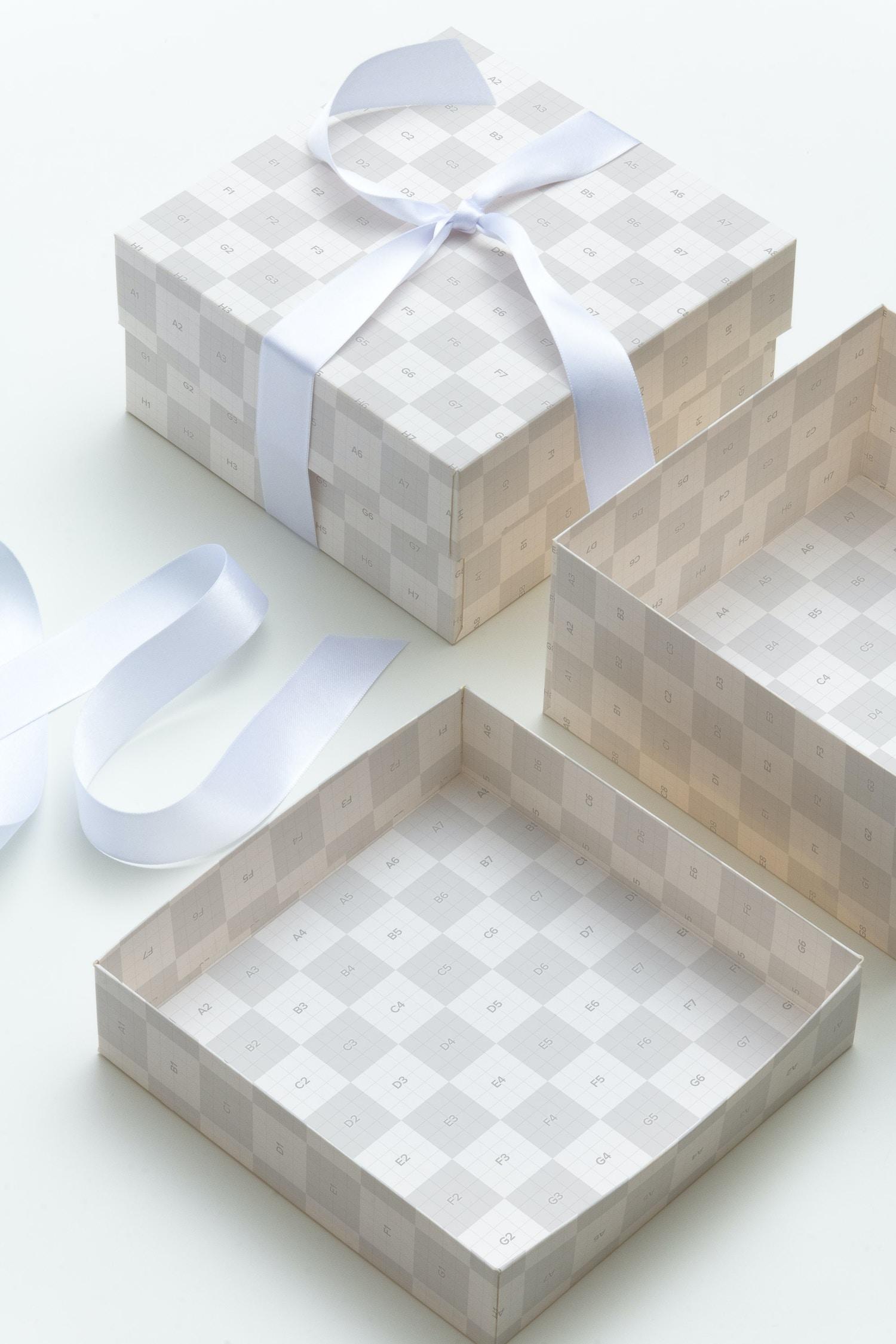 Maqueta para caja de regalo 02 por Ktyellow  en Original Mockups