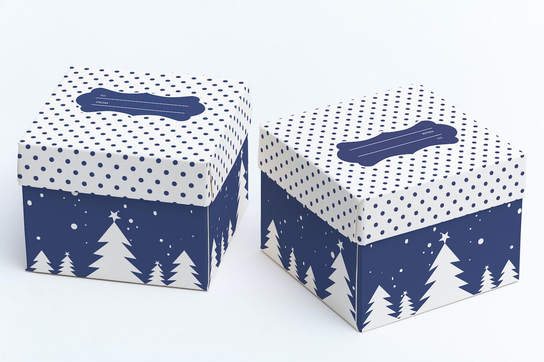 Cube Gift Box Mockup 03