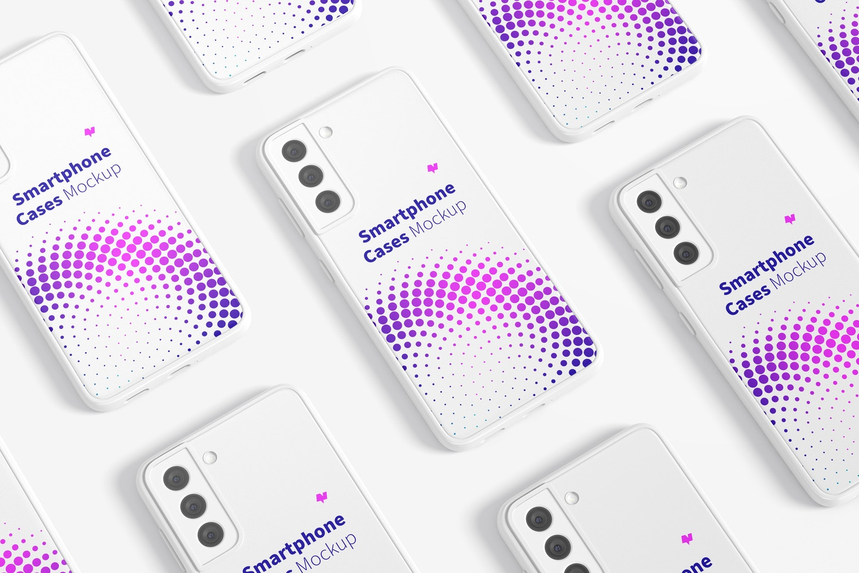 Samsung S21 Cases Set Mockup