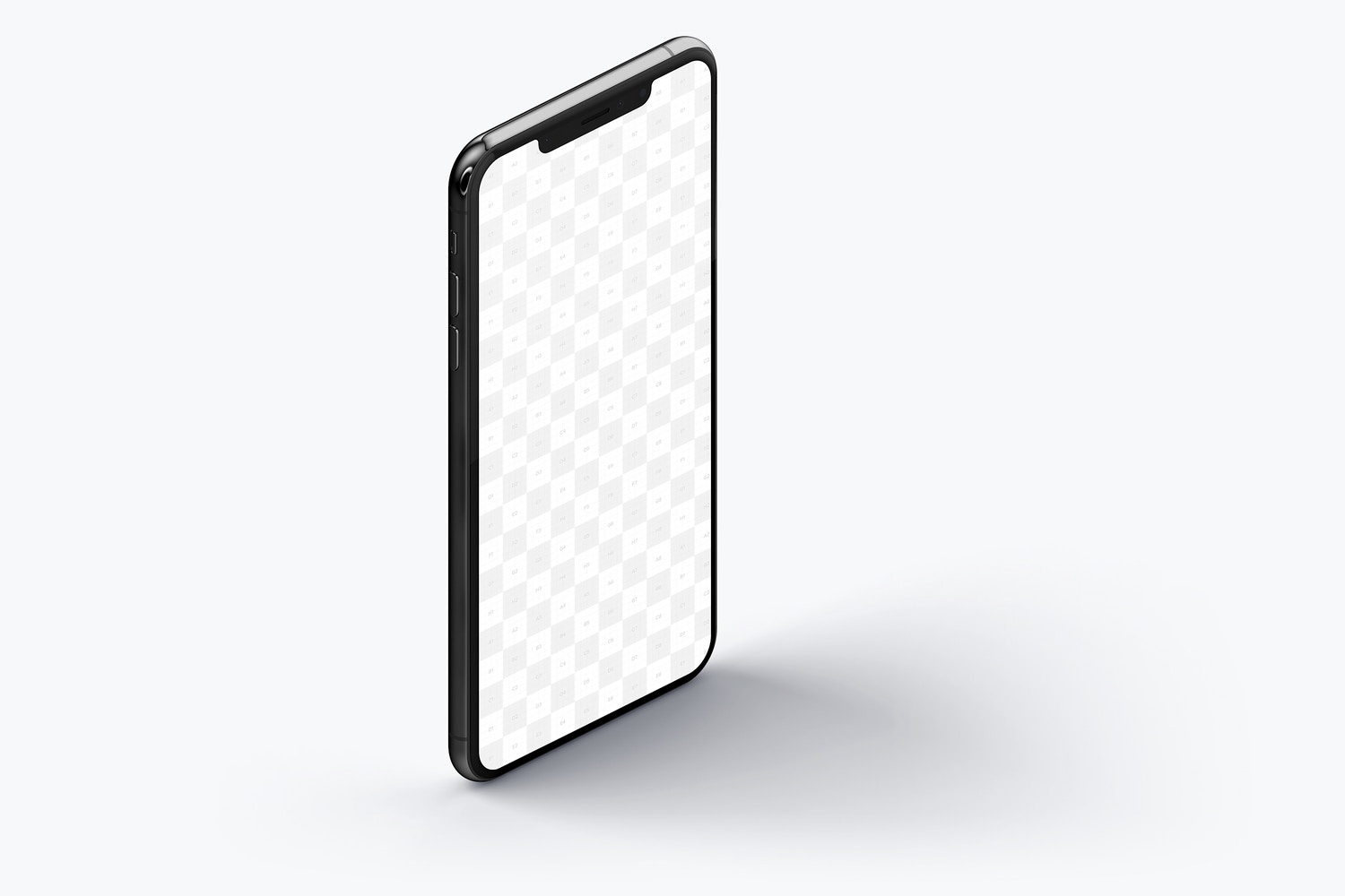 iPhone XS Max Mockup, Isometric Right View 02 (2) by Original Mockups on Original Mockups