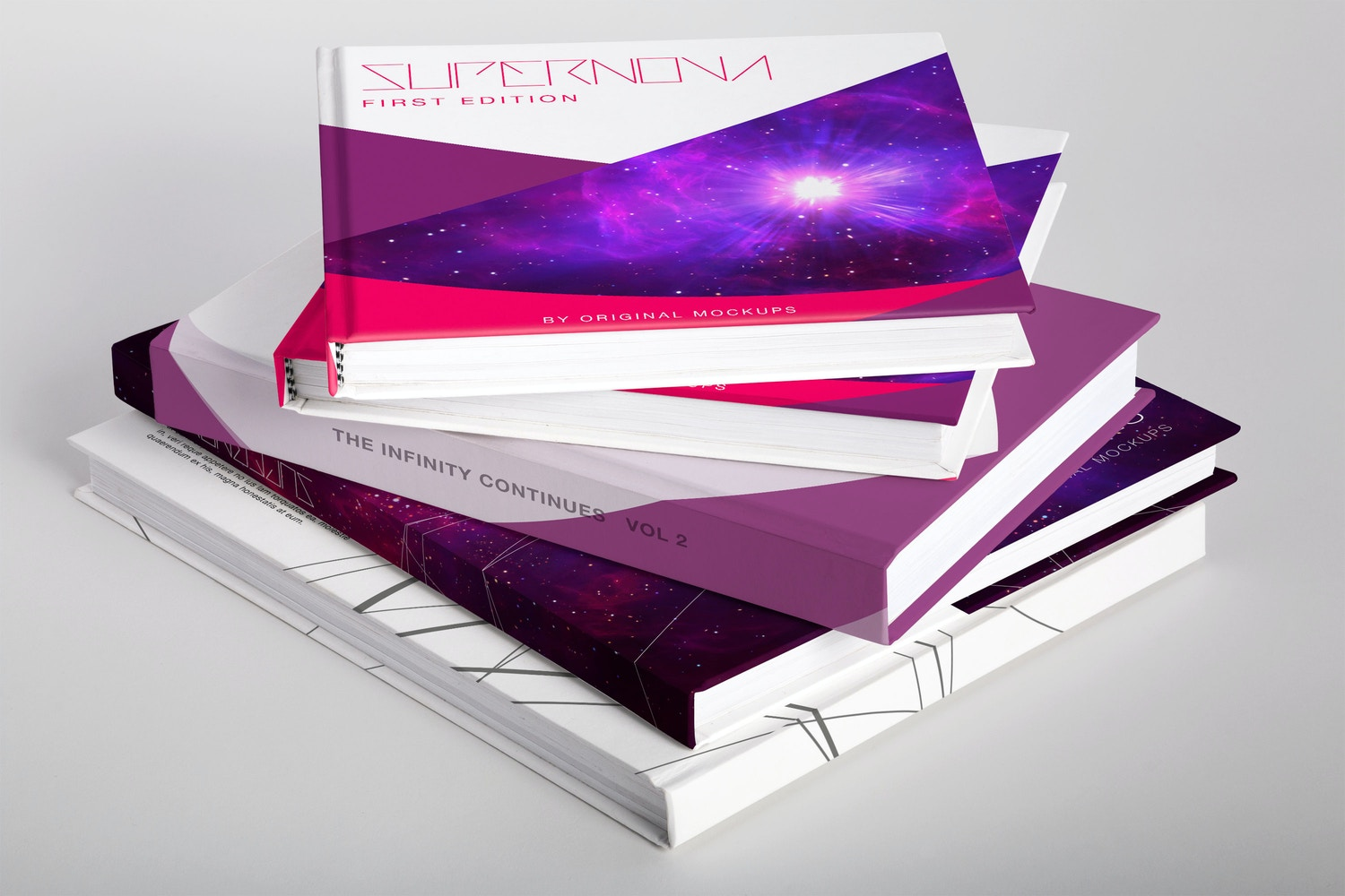 Others Books PSD Mockup 01 por Original Mockups en Original Mockups