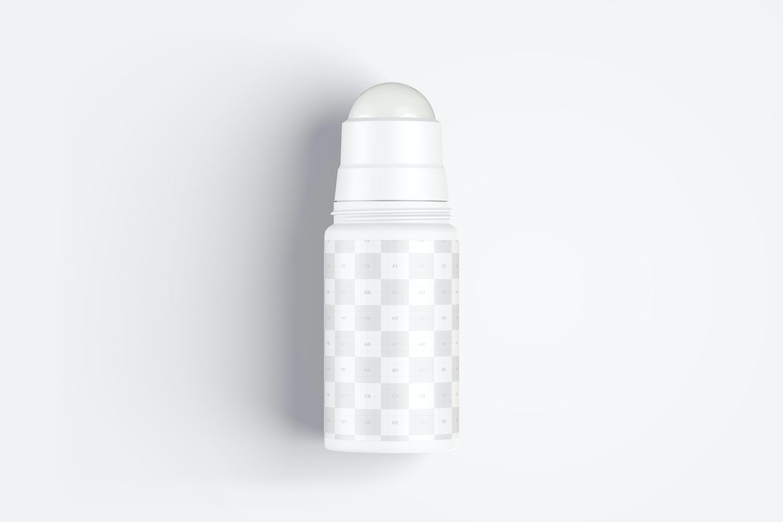 Maqueta de Botella Roll-On, Vista Superior