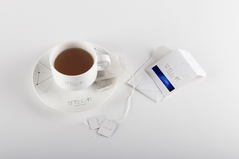 Tea cup and Tea Bags Mockup 01 por Original Mockups en Original Mockups