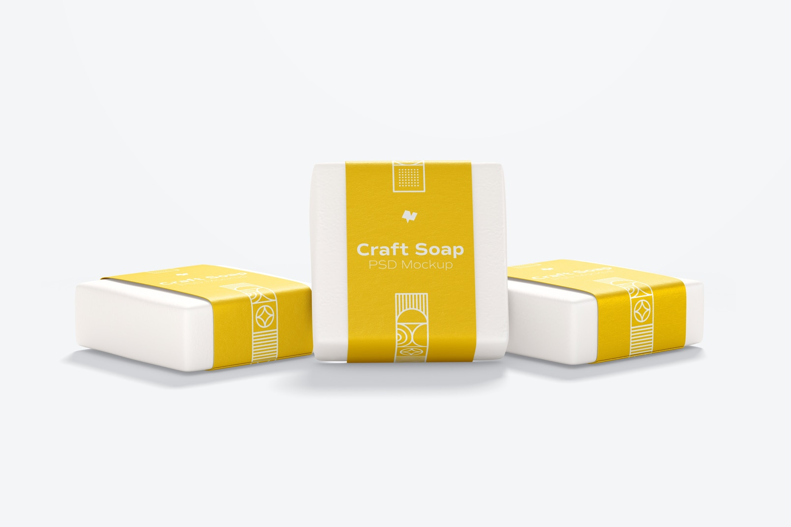 Craft Soaps with Label Mockup