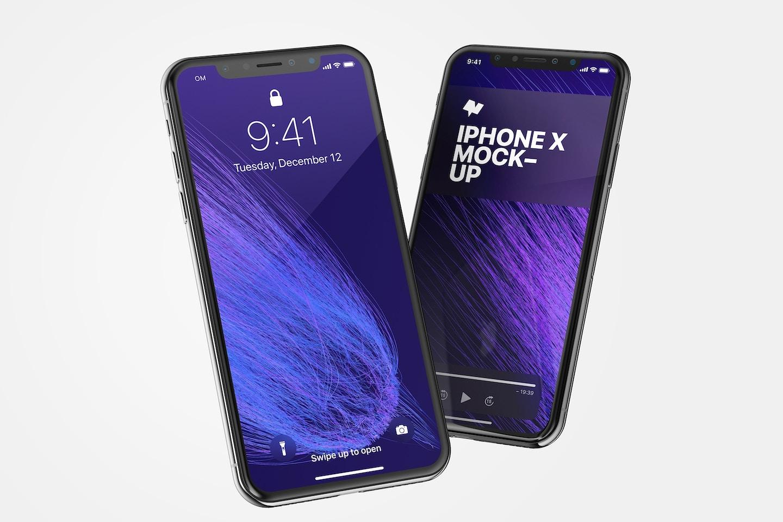 iPhone X Mockup 02