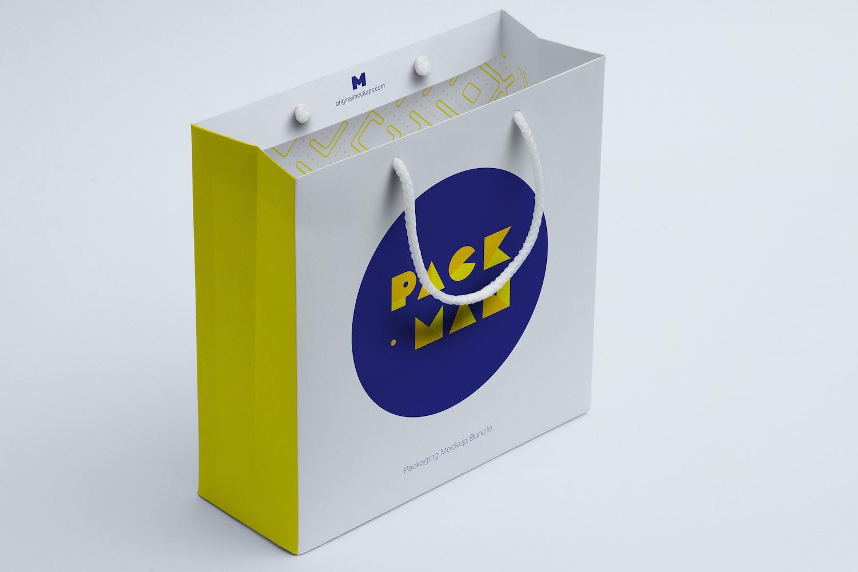 Shopping Bag Mockup 06 by Ktyellow  on Original Mockups