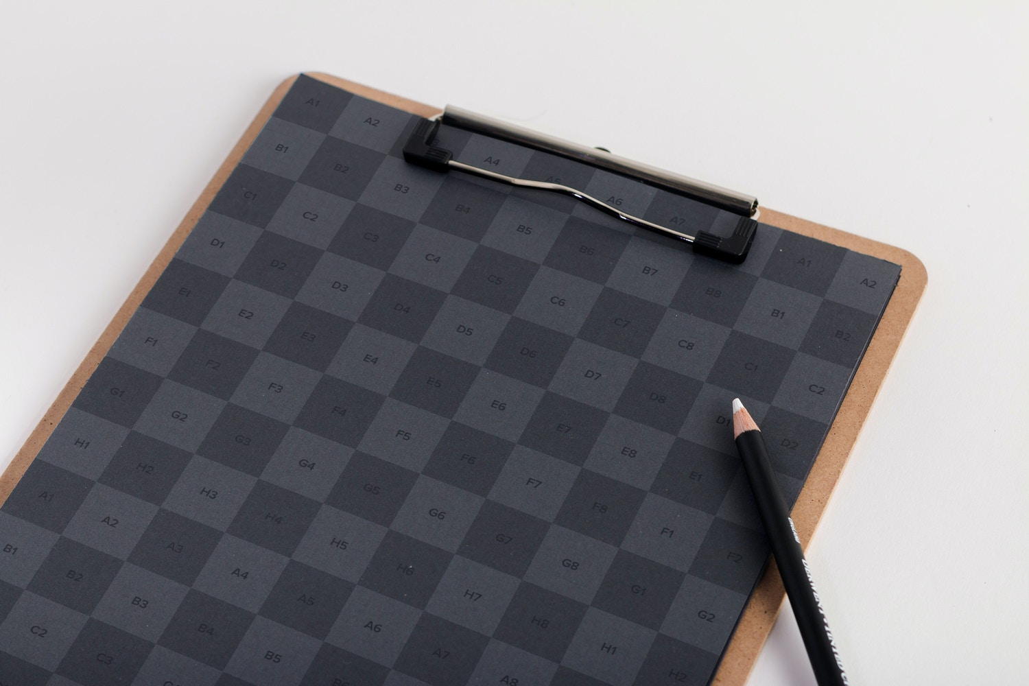 A4 Clipboard Mockup (2) by Original Mockups on Original Mockups