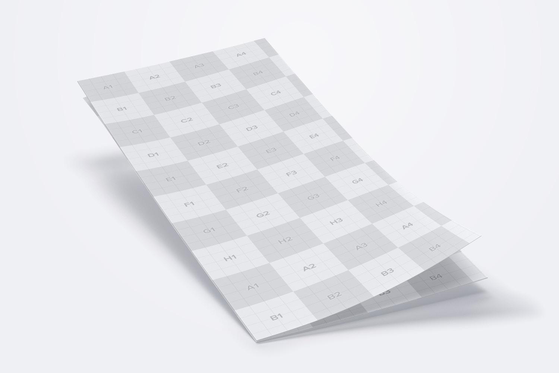 Letter Z Fold Brochure Mockup 01 (3) by Original Mockups on Original Mockups
