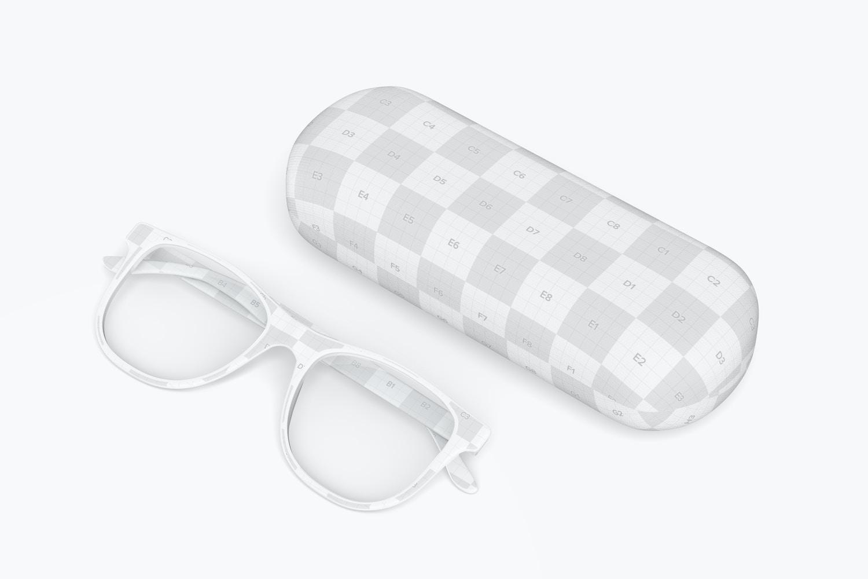 Eyeglass Case Mockup