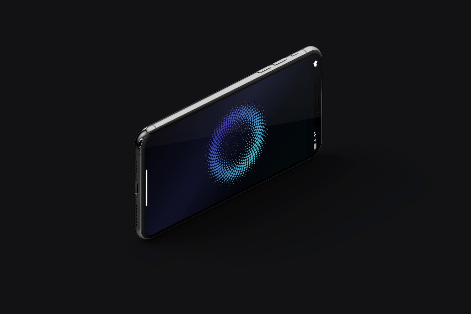 iPhone XS Max Mockup, Isometric Right View 03 (5) by Original Mockups on Original Mockups