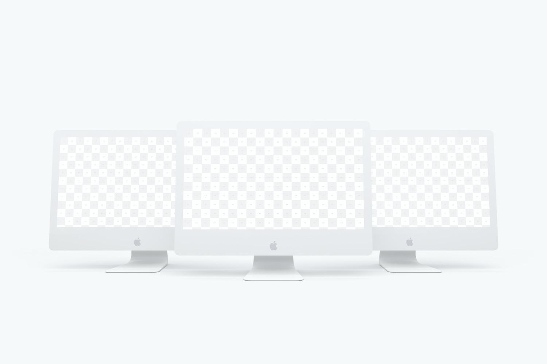 "Clay iMac 27"" Mockup 02 (2) by Original Mockups on Original Mockups"