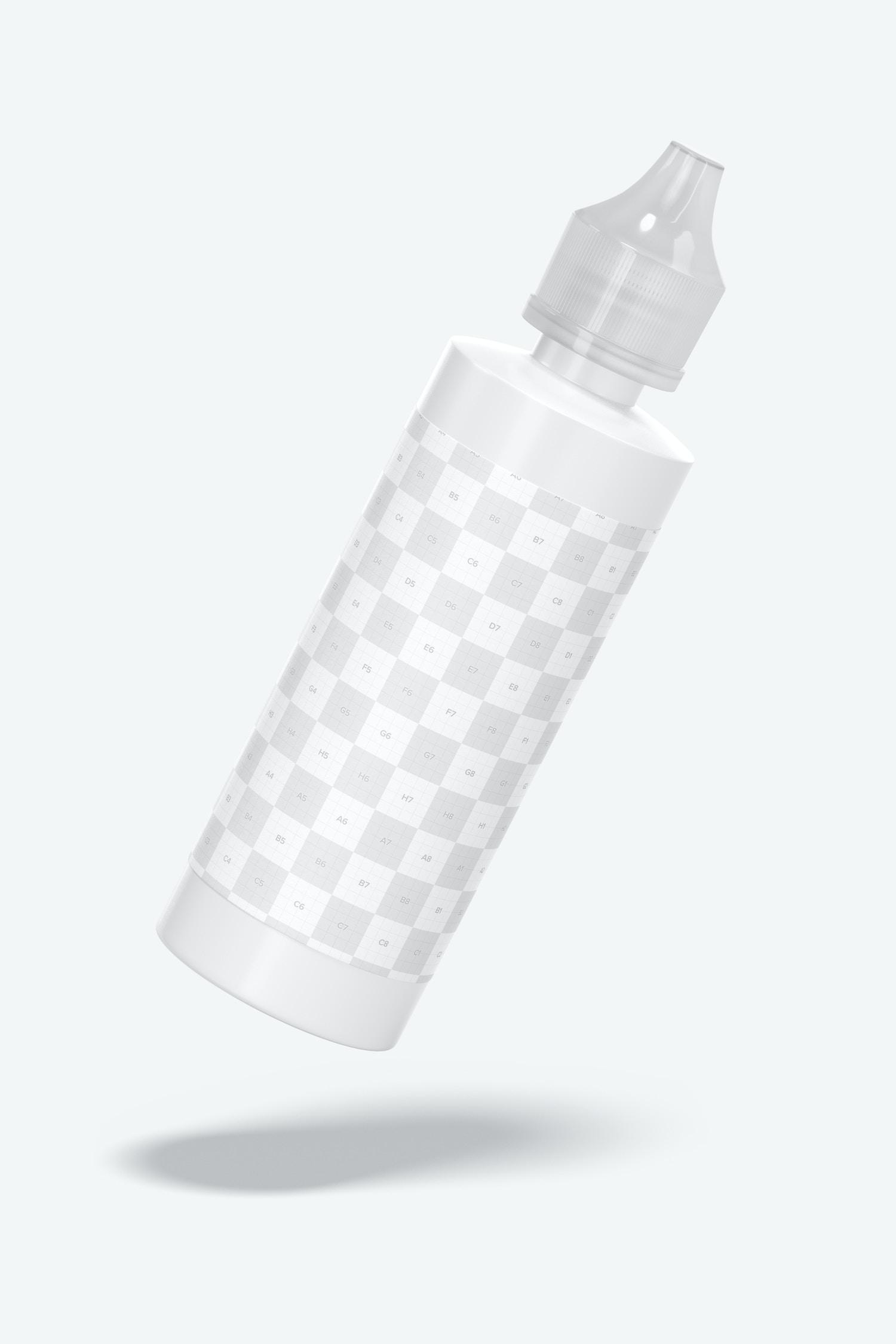 4 oz Fabric Paint Bottle Mockup
