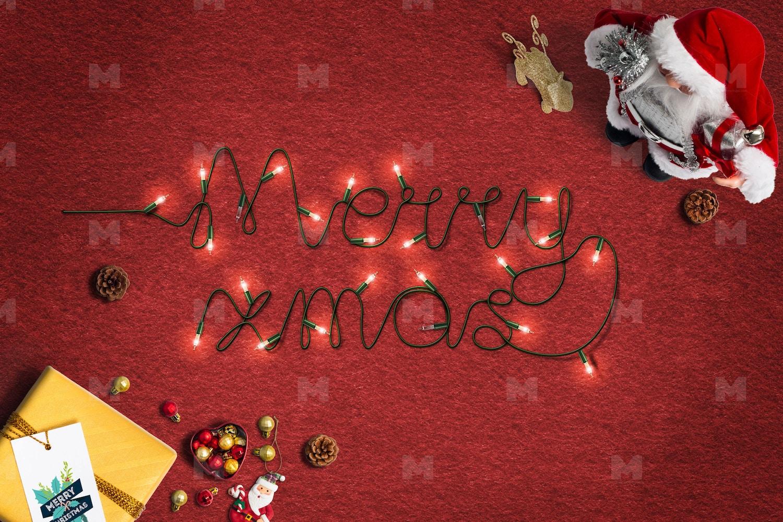 Christmas Header and Hero Scene Mockup 18