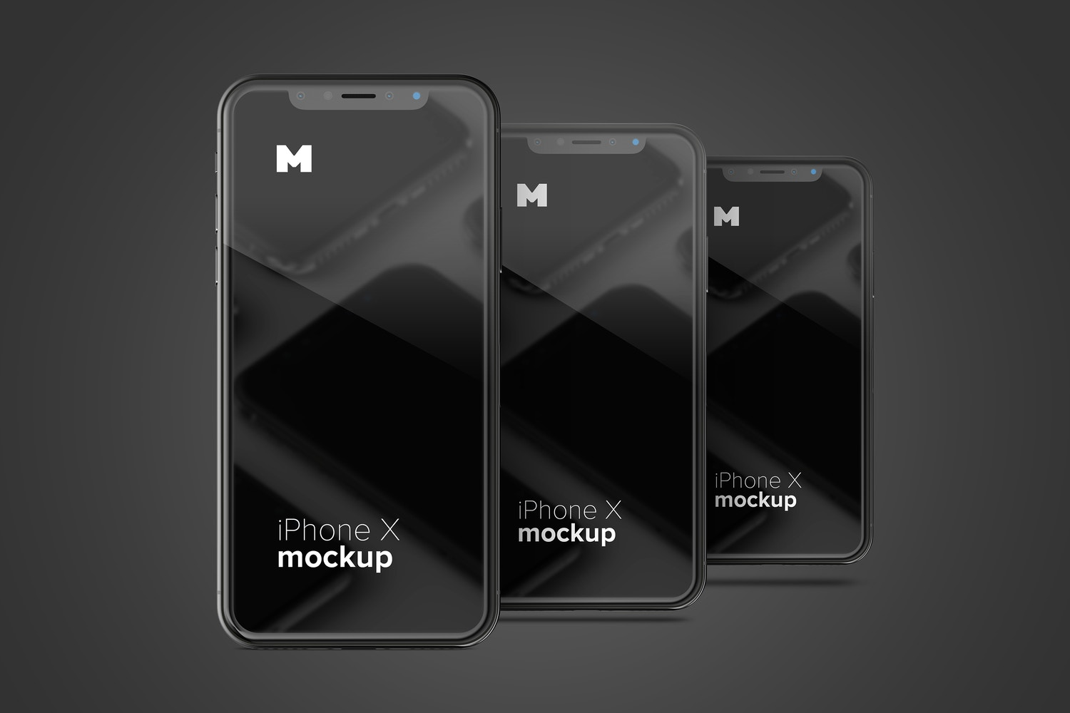 Modify the background with a few clicks and it doesn't matter if your design is dark, clear or of colors all are compatible in this mockup.