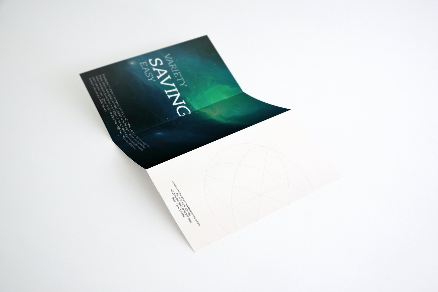 A4 Brochure Mockup 01 by Original Mockups on Original Mockups