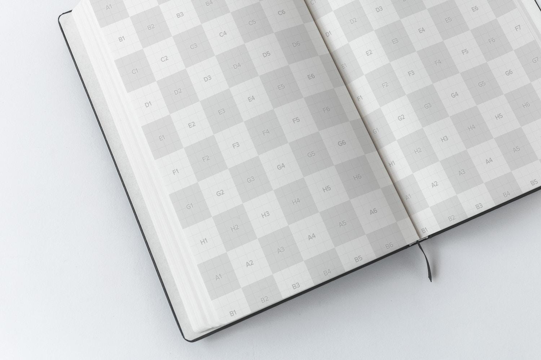 Maqueta de Cuaderno de tapa dura A5 02