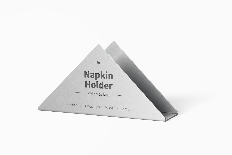 Napkin Holder Mockup