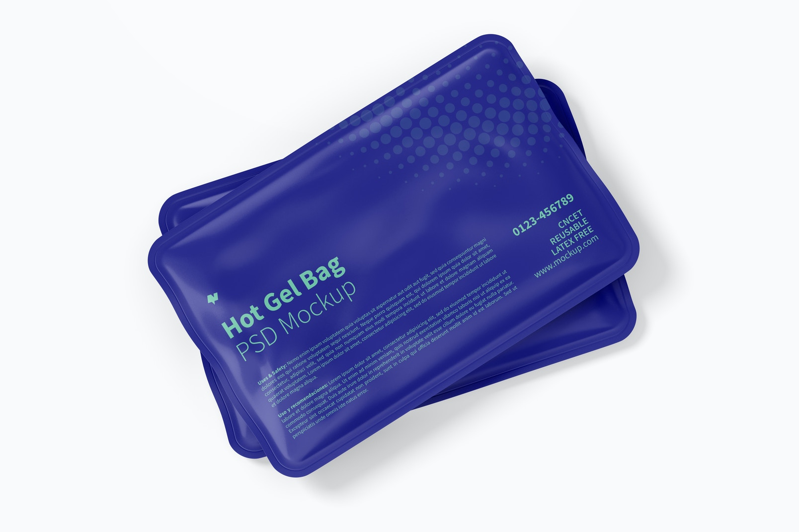 Hot Gel Bags Mockup