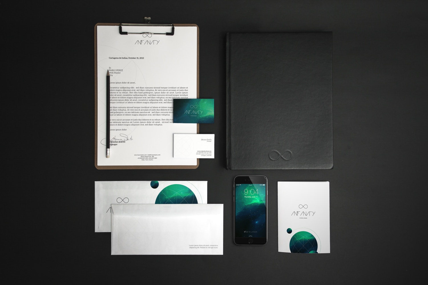 Stationery Mockup 7 by Original Mockups on Original Mockups