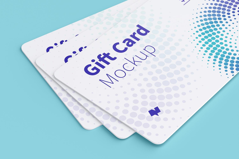 Gift Card Mockup 08 (4) by Original Mockups on Original Mockups