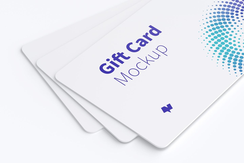 Gift Card Mockup 08