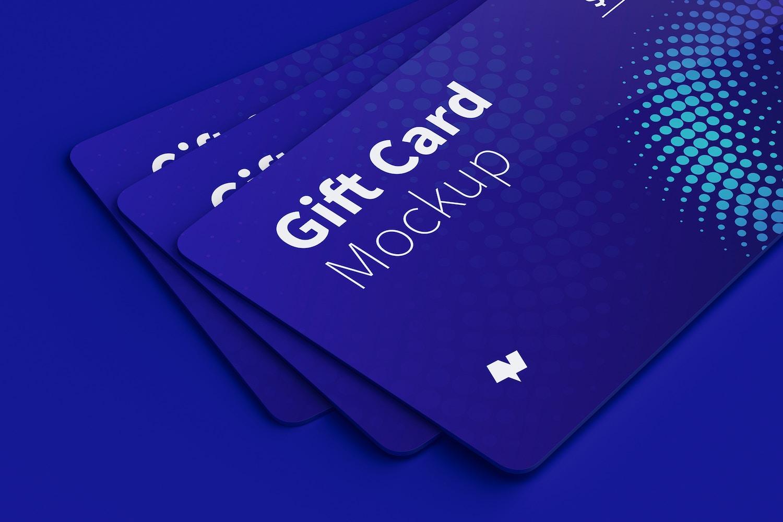 Gift Card Mockup 08 (5) by Original Mockups on Original Mockups
