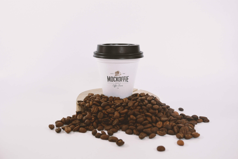 Sealed Coffee Cup Mockup (1) by Eduardo Mejia on Original Mockups