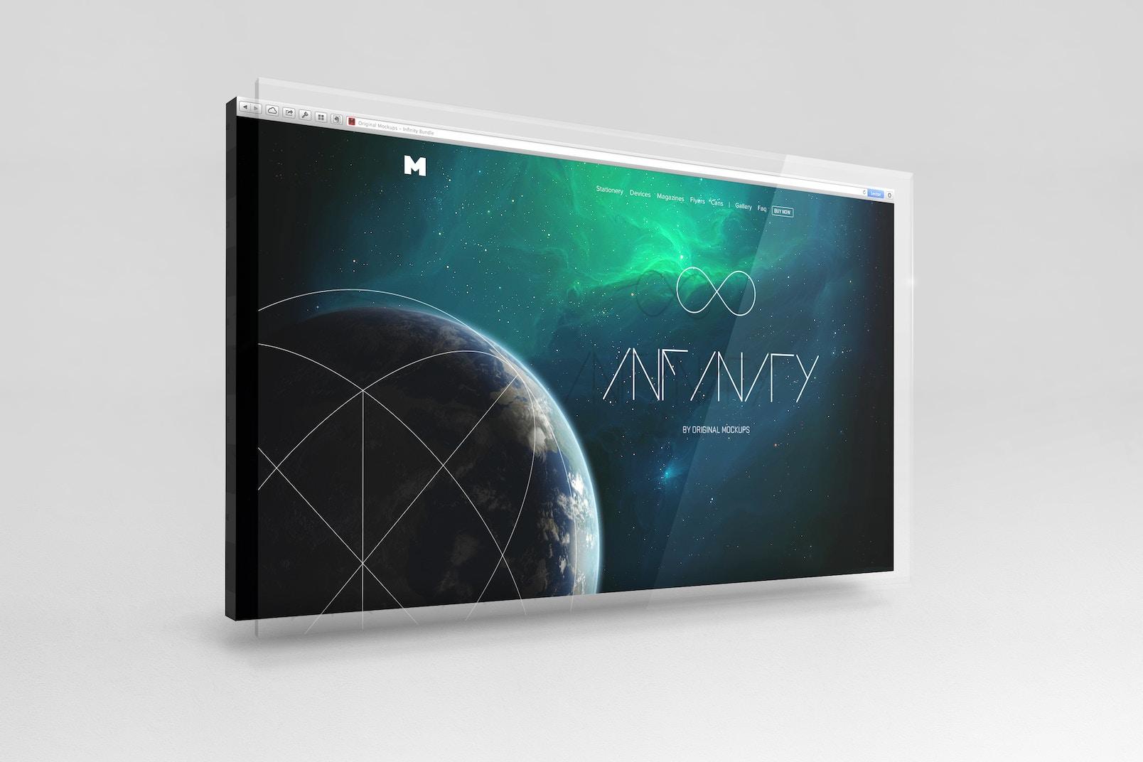 UI Display Mockup 3