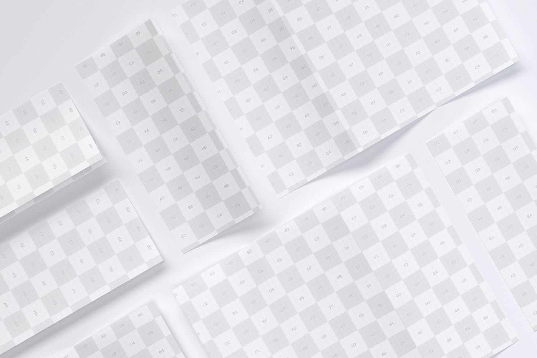 Maqueta de una Folleto Carta de Pliegue en Zig Zag 05 (3) por Original Mockups en Original Mockups