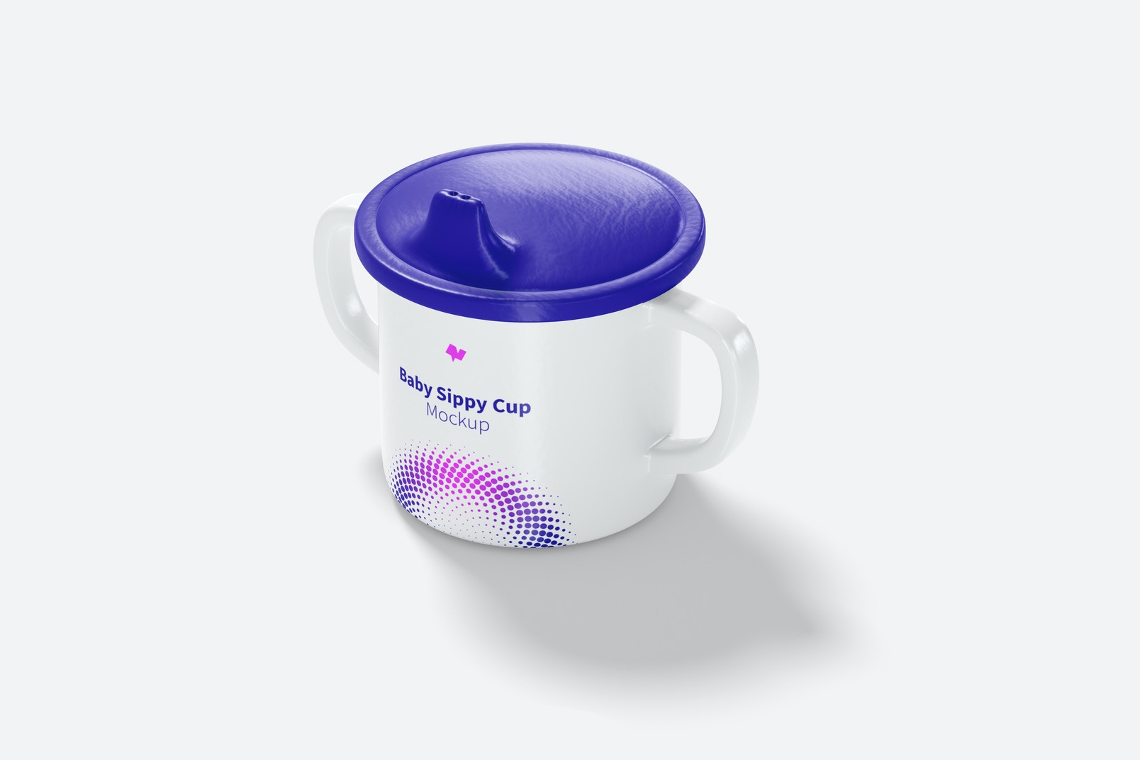 Baby Sippy Cup Mockup