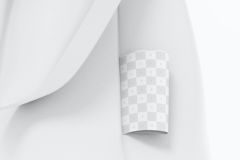 Horizontal Clothing Tag Mockup 02