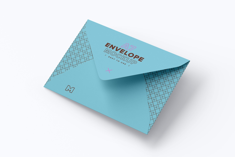 a7 envelope mockup original mockups