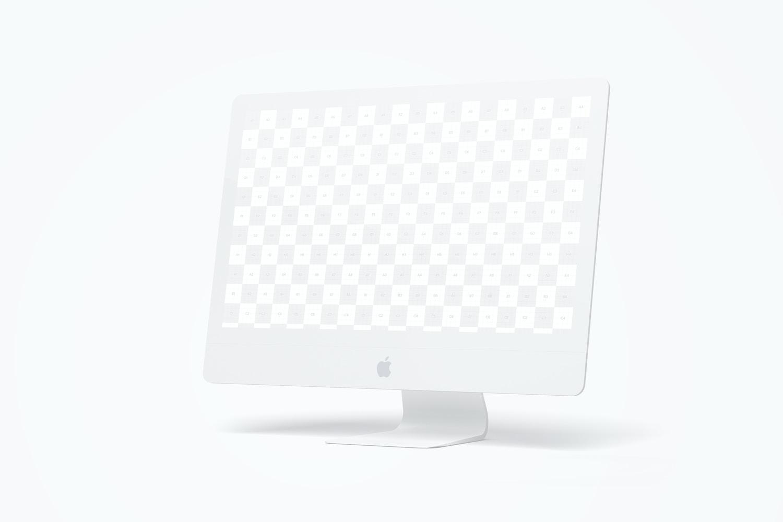 "Clay iMac 27"" Mockup, Right View (2) by Original Mockups on Original Mockups"