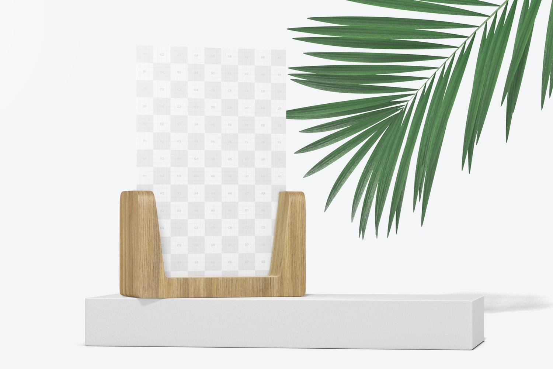 2:3 Photo Frame Mockup, Perspective