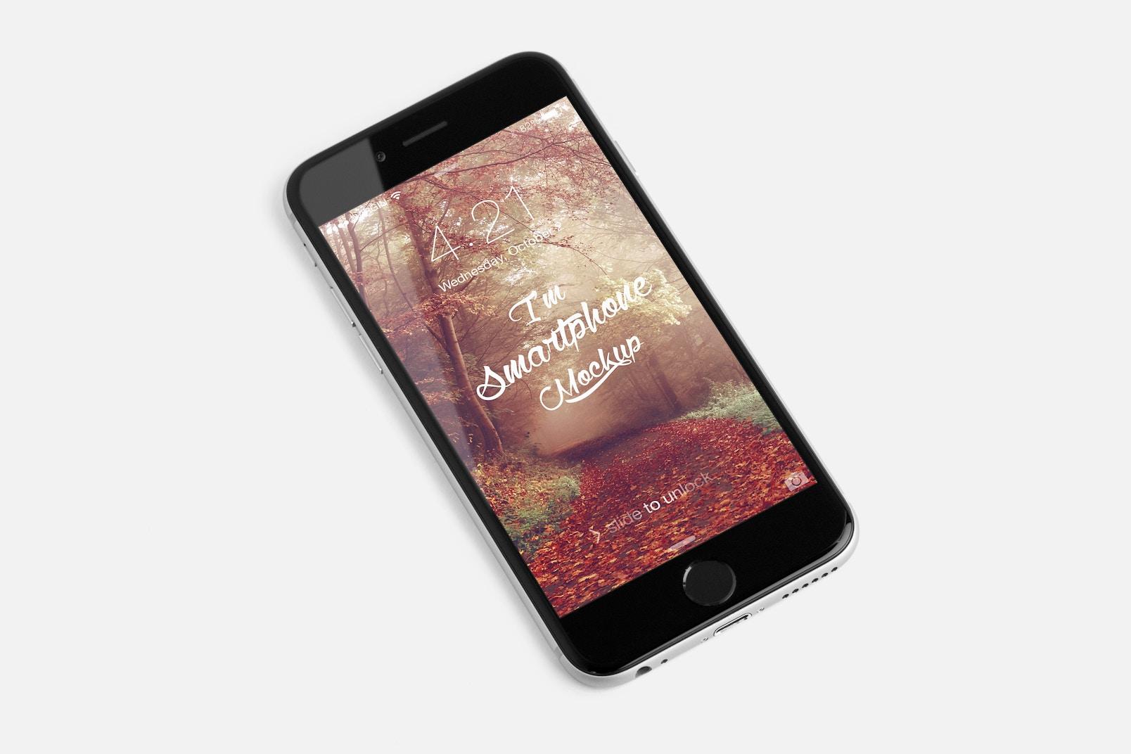 iPhone 6S PSD Mockup 02