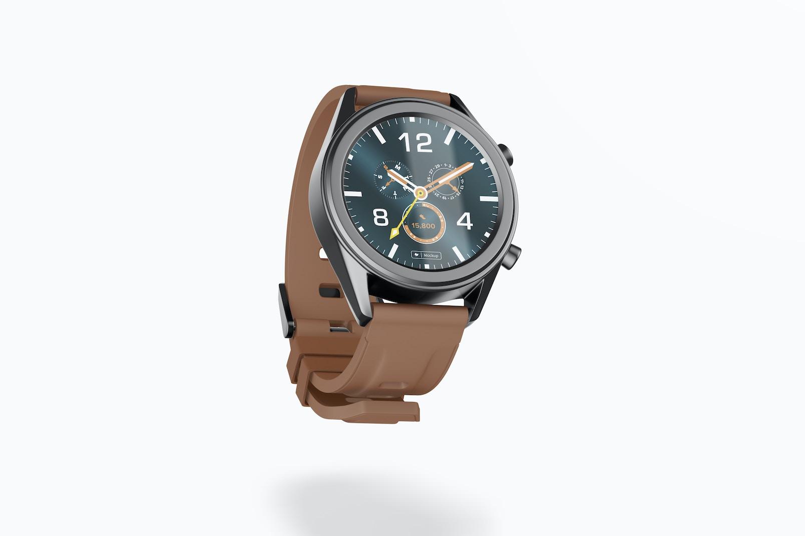 Maqueta de Reloj Inteligente Huawei Watch GT, Cayendo